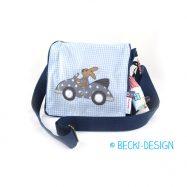 Kindergartentasche blau