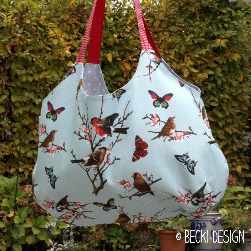 Einkaufstasche Vögelchen